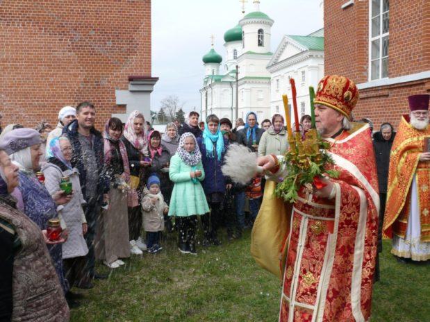 Светлая Седмица в Троекуровском монастыре