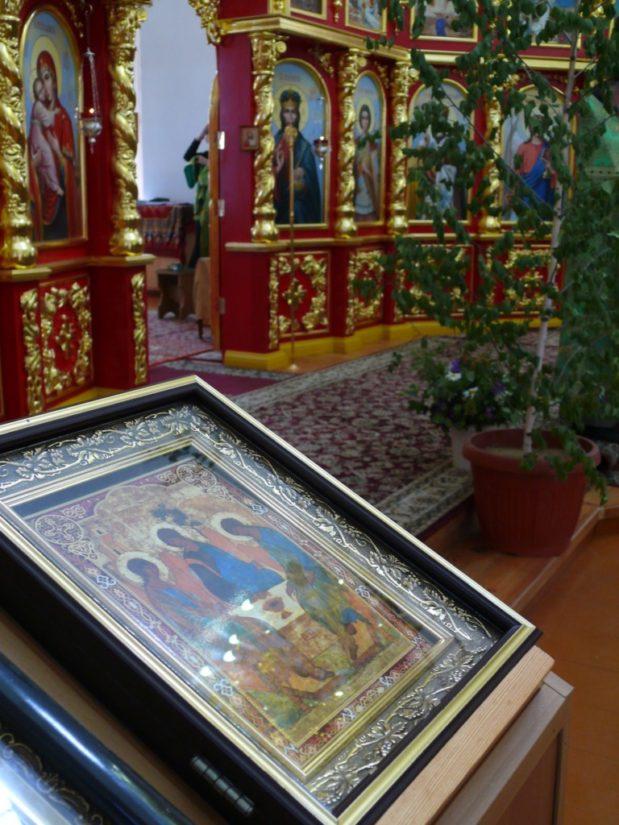 День Святой Троицы в Троекуровском монастыре