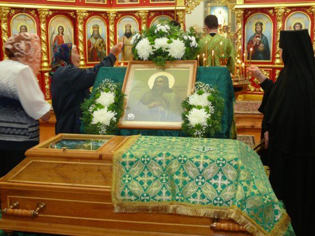 День памяти преподобного Илариона в Свято-Димитриевском Иларионовском Троекуровском монастыре